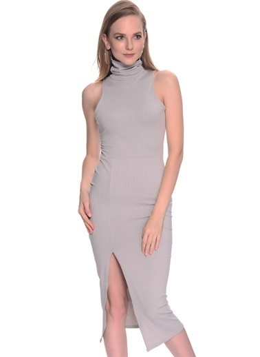 Missguided Missguided Elbise Gri